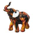 """Elephant Flames Mini 4"""" Elephant Figurine"""