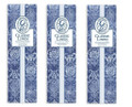 GL Greenleaf Scented Slim Sachet Set of 3 - Classic Linen