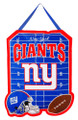 Team Sports America NFL New York Giants 2DHF3820Door Decor, New York Giants, Blue