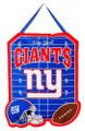 Team Sports America NFL New York Giants 2DHF3820Door Decor, New York Giants, Blue