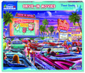 White Mountain Puzzles Drive-in Movie - 1000 Piece Jigsaw Puzzle