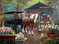 White Mountain Puzzles City Market  - 1000 Piece Jigsaw Puzzle