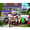 White Mountain Puzzles Ice Cream Truck-1000 Piece Puzzle-Designer: Lewis T. Johnson