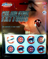 Rico MLB Chocago Cubs Peel and Stick Tattoo Set (8 Piece)