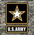 Spoontiques US Army Box Sign, Camouflage