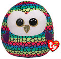 Ty 39191 Owl Plush Toy, Multicoloured