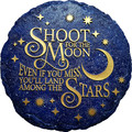 Spoontiques 13791 Shoot for The Stars Stepping Stone, Dark Blue