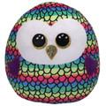 "TY UK Ltd 39291 Owen Squishaboo 10"" Owl Owl-Squish-A-Boo-10, Multicoloured"