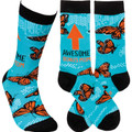 Primitives By Kathy 105924 Awesome Mom Socks