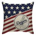 MLB Los Angeles Dodgers Americana Decorative Throw Pillow