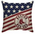MLB Boston Red Sox Americana Decorative Throw Pillow