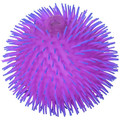 Gadgets 9 Inch Thick Squishy Puffer Ball - 2 Tone Purple Color