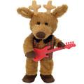 """Blitzen Reindeer """"Jingle Bells"""" Chantilly Lane Bear #188"""
