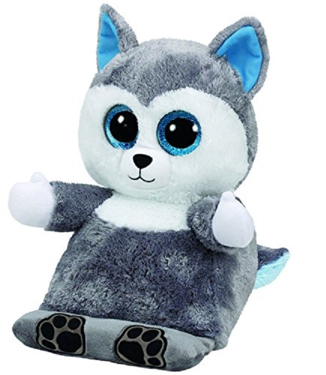 Scout The Husky Ty Beanie Babies Peek A Boos 15 Tablet Holder The