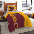"Northwest NFL Washington Redskins Soft & Cozy Twin 5 Piece 64"" x 86"" Red Comforter Set"