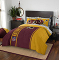 "Northwest NFL Washington Redskins Soft & Cozy Full 7 Piece 76"" x 86"" Red Comforter Set"