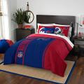"Northwest NOR-1NFL836000003BBB 76"" x 86"" Buffalo Bills NFL Soft & Cozy Full Comforter Set"