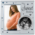 My Sweet Baby Sonogram Ultrasound Photo Picture Frame Expectant Mom Keepsake