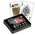 Royal Large Numbered Plastic Bridge Size Cards - Double Deck
