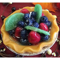 """Home Style Candles 5"""" Fruit Pie Scented Pie Candle"""