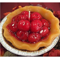 """Home Style Candles 5"""" Cherry Scented Pie Candle"""