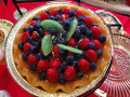 """Home Style Candles 8"""" Fruit Pie Scented Pie Candle"""