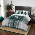 The Northwest Company Michigan State University Comforter and Sham Bed Set