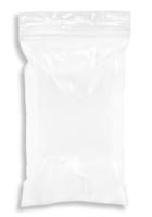 3'' x 5'' 2 mil Snap-N-Fill Reclosable Ziplock Bag, White Block  SKU: 150-150-1045
