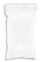 6'' x 9'' 2 mil Snap-N-Fill Reclosable Ziplock Bag, White Block  SKU: 150-150-1135