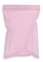2.5'' x 3'' 4 mil, Reclosable Ziplock, Pink Anti-Stat Bags SKU: 150-020-1000
