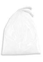 15'' x 18'' + 2'' B.G., DRAWSTRING Patient Belonging Bag-CLR SKU: 153-010-1000