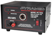 Pyramid PS15 12 Amp Power Supply with Cigarette Lighter