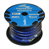 AUDIOPIPE PRIMARY WIRE, 0 GAUGE, 25FT, BLUE