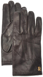 Stefano Ricci Gloves Handmade Leather Cashmere Lined Size 9 Brown 13GL0102