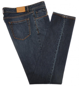 Boglioli Jeans Denim Cotton Stretch 32 48 Blue 24JN0103