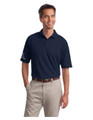 Associate SHORT sleeve POLO - MENS - Navy w/sleeve XEX logos