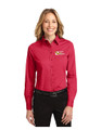 School Meal Program - MGR TWILL Shirt LADIES LONG Sleeve