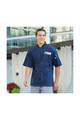 CREW Member SMP Chef Coat with Pro Vent - Navy