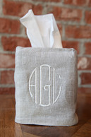 Tissue Box Cover - 100% Linen