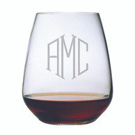 Glasses - Stemless Wine  - Set of 4