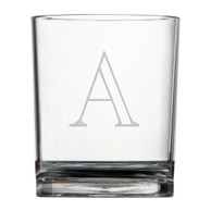 Glasses Acrylic - Double Old Fashion - Set of 4