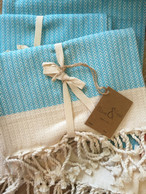 Scents and Feel Herringbone Guest Towel