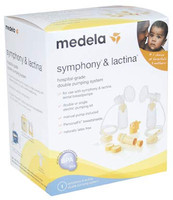 Medela Symphony & Lactina Double Pumping Kit #67116