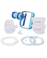 Freemie - Deluxe Equality Manual Breast Pump Set, 25mm & 28mm Funnels