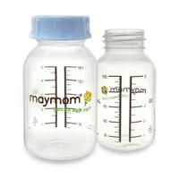 Maymom - Clear Milk Bottle 5oz, Standard Neck (1 Count)