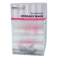 Prettymums - Breastmilk Storage Bags with Thermal Sensor