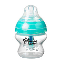 Tommee Tippee - Closer to Nature Anti-Colic Plus Bottles BPA Free, 150ml/5oz (1 Count) 422405