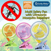 Lucky Baby - Multi Safety Fan, Ultrasonic Mosquito Repellent