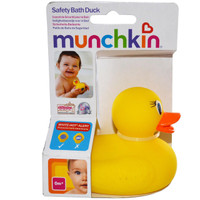 Munchkin - Safety Bath Ducky, 0+ Months