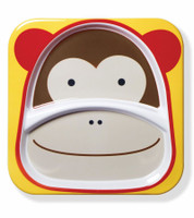Skip Hop - Zoo Divided Plate (Monkey)